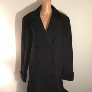 Vintage Liz Claiborne Double Breasted Coat